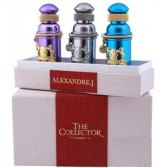 ALEXANDRE.J COLLECTOR SET #1   3*8 ml.(Argentic+Iris Violet+Mandarine Sultane)