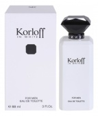 KORLOFF IN WHITE MEN EDP 50 ML.